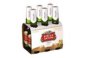 בירה סטלה ארטואה 330-שישייה