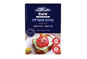 מוצרלה פרוסות 24% 150 גרם -EURO CHEESE