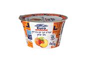 יוגורט עם אפרסק 150 גרם 0%- EURO CHEESE