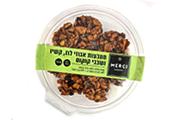 מטבעות אגוזי לוז,קשיו ושבבי קוקוס-טבעוני