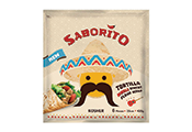 עלי טורטיה עם קמח תירס 540 גרם SABORITO
