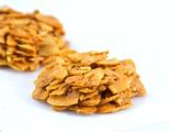 עוגיות שקד פרוס ותפוז מסוכר - ללא קמח