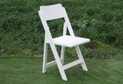 כסא עץ לבן