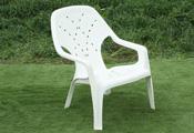 כסא פלסטיק בריכה