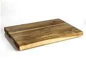 פרופשיונל לוח חיתוך עץ מלא 60x40x3.5 ס