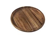 לוח סטייק עגול מעץ 20 ס