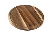 לוח סטייק עגול מעץ 25 ס