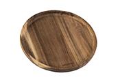 לוח סטייק עגול מעץ 19 ס