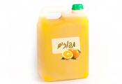 תפוזים סחוט טבעי - משקה קל 5 ליטר