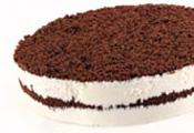 עוגת גבינה פרורים שוקולד - קוטר 26 ס