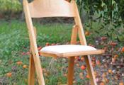 כסא עץ תאילנדי